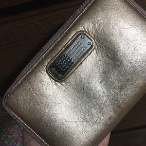 Pink wrist wallet